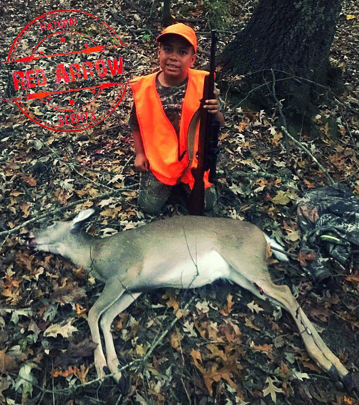 Mason used the winning combination of ScentBlaster and Red Arrow Scents Killer Korn.