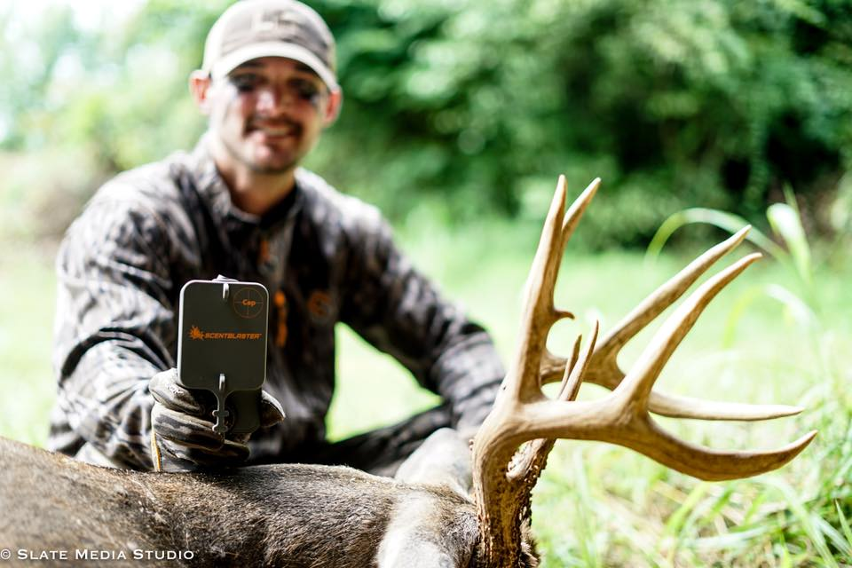 Matt Jennings ScentBlaster Ultimate Wicking System Kentucky trophy whitetail buck